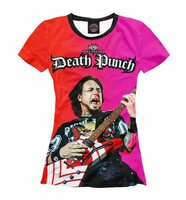 Футболка Print Bar Five Finger Death Punch (FFD-735524-fut-1-5XL)