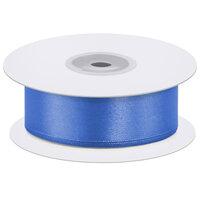 Лента атласная (0,7 см х 22,85 м) Светло-синий