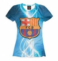 Футболка Print Bar FCB герб (BAR-623635-fut-1-2XS)