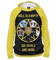 Худи Print Bar HU 6 Devils Are Here (HLW-470353-hud-S)