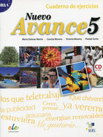 Concha Moreno Garc?a, Victoria Moreno Rico, Piedad Zurita S?enz de Navarrete Nuevo Avance 5 Cuaderno de ejercicios + CD