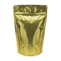 Пакет дой-пак металлизированный золотой 105*150 мм. В упаковке 100 шт.
