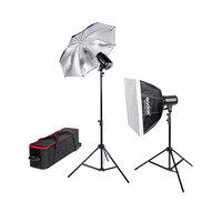 Комплекты импульсного света Комплект студийного оборудования Godox E250-F