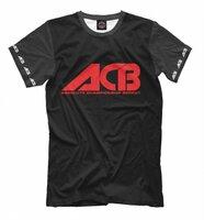 Футболка Print Bar ACB black (MNU-233267-fut-2-XXXL)