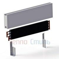 Настенный конвектор iTermic ITW.300.1500.100 высота 300 мм длина 1500 мм ширина 100 мм, настенный