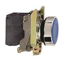 Лампы, кнопки, звонки, переключатели Кнопка синяя с потайным толкателем Schneider Electric