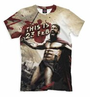 Футболка Print Bar THIS IS 23 FEB (23F-698937-fut-2-4XL)