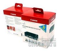 Canon PGI-29 (Mbk+PBk+DGY+GY+LGY+CO), набор № 29