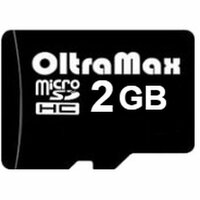 Карта MicroSD 2 ГБ OltraMax с адаптером