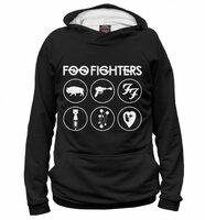 Худи Print Bar Foo Fighters (MZK-978269-hud-XXL)