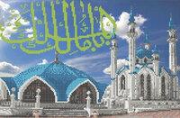 Мечеть Кул Шариф Набор для вышивки бисером Каролинка кбпн(Ч) 3019/1