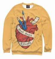 Свитшот Print Bar Head, Heart, Hustle (DZN-909745-swi-M)