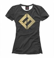 Футболка Print Bar Foo Fighters - Concrete And Gold (FOO-287528-fut-1-M)