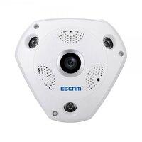 Панорамная VR IP-камера ESCAM Shark QP180 (960p) fisheye на 360 градусов