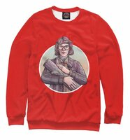 Свитшот Print Bar Log Lady (SOT-543229-swi-4XL)