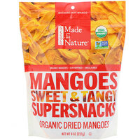 Органические Mangoes Сладкий & Tangy Supersnack, 8 унций (227 г)