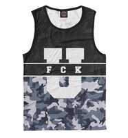 Майка Print Bar FCK U - Winter (APD-418565-may-2-6XL)