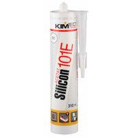 Герметик силиконовый Kim Tec Silicon 101E Белый