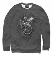 Свитшот Print Bar Стальной Дракон на скале. (DRA-990983-swi-L)