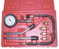 ATP-2075 Licota Компрессометр бензиновый, набор с гибкой, 2-мя жесткими насадками и переходниками