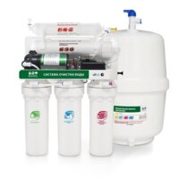 Raifil 5 ст. водоочиститель RO 808-550BP-EZ с насосом и баком 12 л.