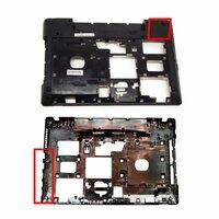 Поддон, нижний корпус для Lenovo IdeaPad G580, G585, P585 с HDMI, Тип 3, D-cover
