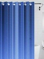 Штора для ванной BATH PLUS NFD-3D-dark blue, темно-синий