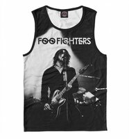 Майка Print Bar Foo Fighters (MZK-259867-may-2-XS)
