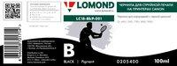 Чернила Lomond для CANON, LC18-BkP-001, 100 мл, черные, пигментные, 0205400