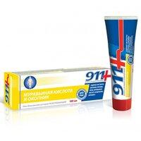 911 Гель-бальзам Муравьиная кислота и Окопник, для суставов, 100 мл