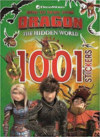 How to Train Your Dragon The Hidden World: 1001 Stickers