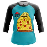 Реглан 3/4 teestore Смешные Pizza the Hut