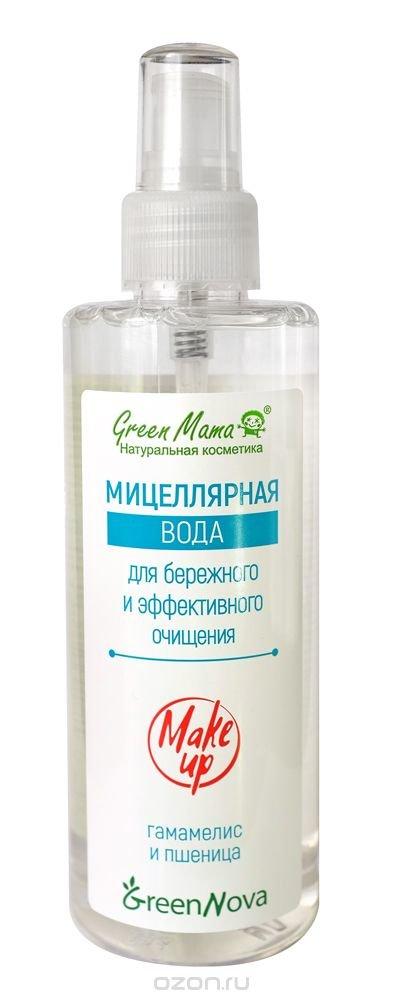 Грин мама жидкость для снятия макияжа