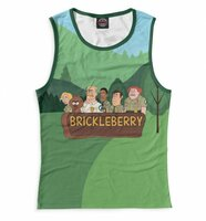 Майка Print Bar Brickleberry (BRB-707187-may-1-XS)