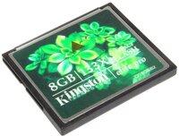 Карта памяти CompactFlash (CF), 8Gb, Kingston, 133X