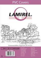 Обложки прозрачные пластиковые LAMIREL Transparent A4, PVC, прозрачные, 200 мкм, 100 шт.