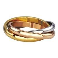 Кольцо из стали Everiot AAB-872RSS тройное (Размер 5 (наш 15,7))