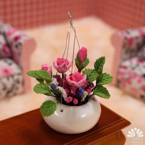 Флористические миниатюры поделки