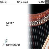 Струна C4 для арфы Bow Brand Lever Artists Nylon