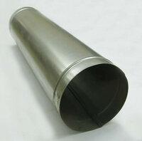 Левша Труба прямошовная D 100 (1м) оцинкованная сталь