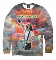 Свитшот Print Bar Foo Fighters - Dave Grohl (Painty) (MZK-725351-swi-6XL)