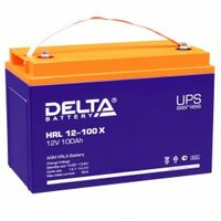 Аккумулятор для ИБП Delta HRL 12-100 X 900А универсальная полярность 100 Ач (330x171x220)