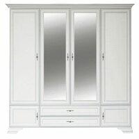 Шкаф BRW-Мебель Kentaki SZF6D2S (Белый, ЛДСП с накладками МДФ, Белый)