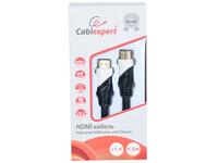 Кабель HDMI Cablexpert, серия Silver, длина 4,5 м, v1.4, M/M, позол.разъемы, коробка