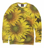 Свитшот Print Bar Солнечный цветок ! (CVE-237959-swi-XS)