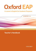 OXFORD EAP A2 Teachers Book & DVD Pack