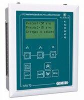 ПЛК73 контроллер с HMI для локальных систем в щитовом корпусе с AI/DI/DO/AO Овен Программируемый логический контроллер…