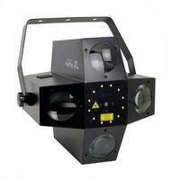 INVOLIGHT Ventus XL - световой эффект, 25 шт. 1 Вт RGBW, 12 шт. 1 Вт W, лазер 50 мВт G, 100 мВт