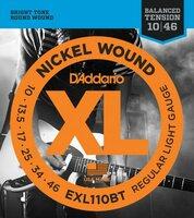 Daddario Exl110bt струны для электро гитары.