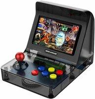 Портативная игровая приставка Retro Arcade + 3000 встроенных игр + 2 геймпада (Черная)